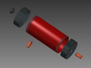 3ds max tank water cooling