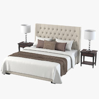 Meridiani Bedroom Set