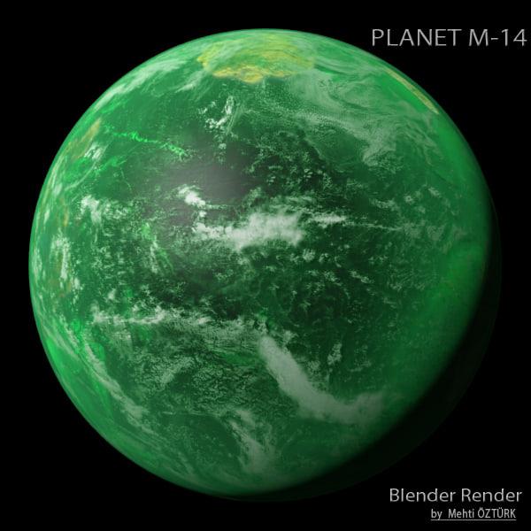 3d planet m-14 m