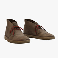 Clarks - Desert Boots High Poly