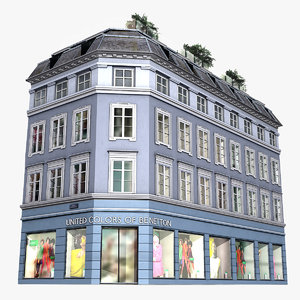 3ds realistic building