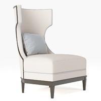 Bolier - Modern Luxury Demi Wing Chair 92006