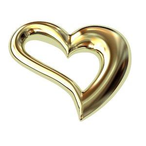 3d model heart s shape