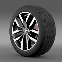 Volkswagen Golf S wheel