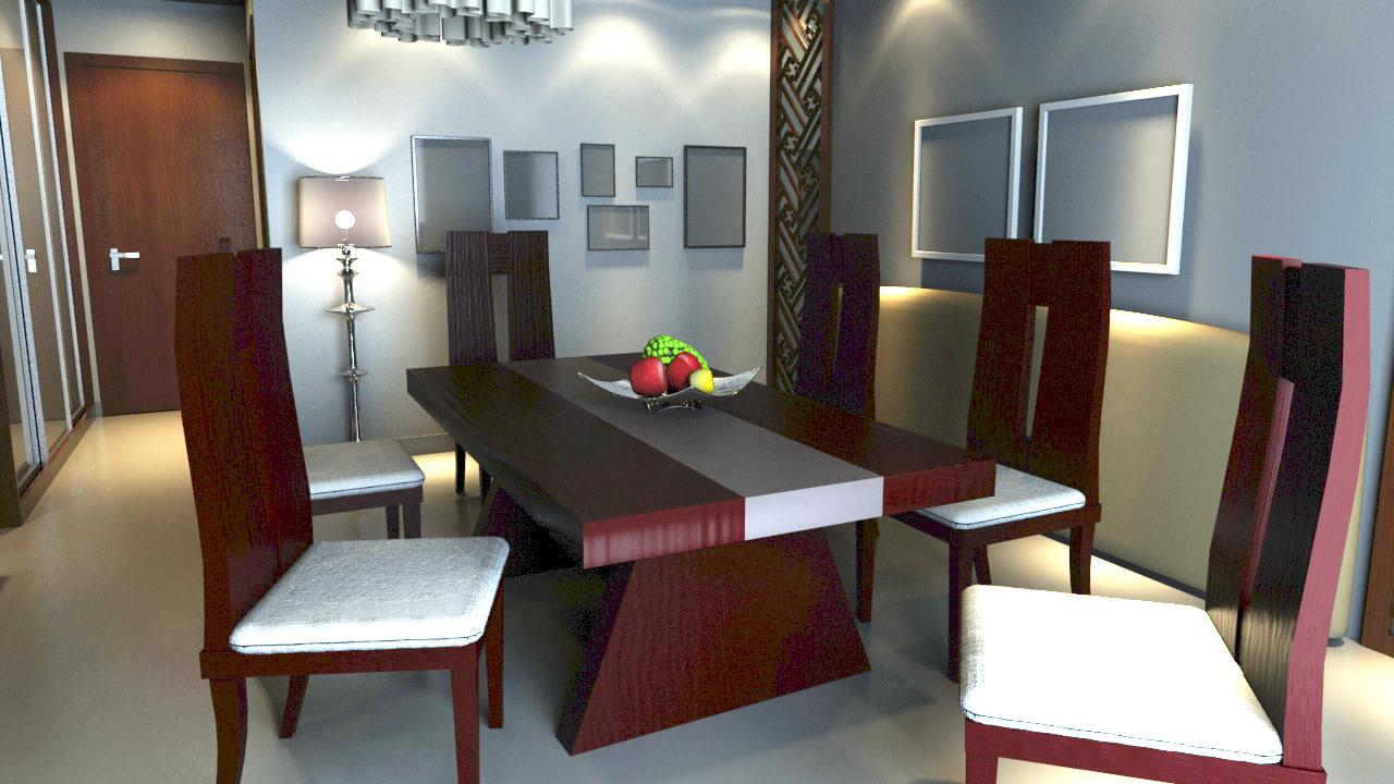 maya architecture interior