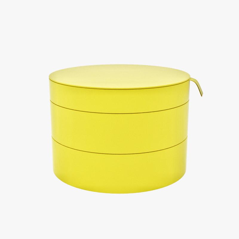 pallra box lid 3d 3ds