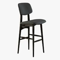 autoban batterfly bar stool 3ds