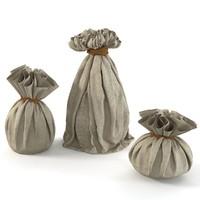 3d bags fabric s model