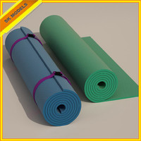 3ds max yoga mats exercise