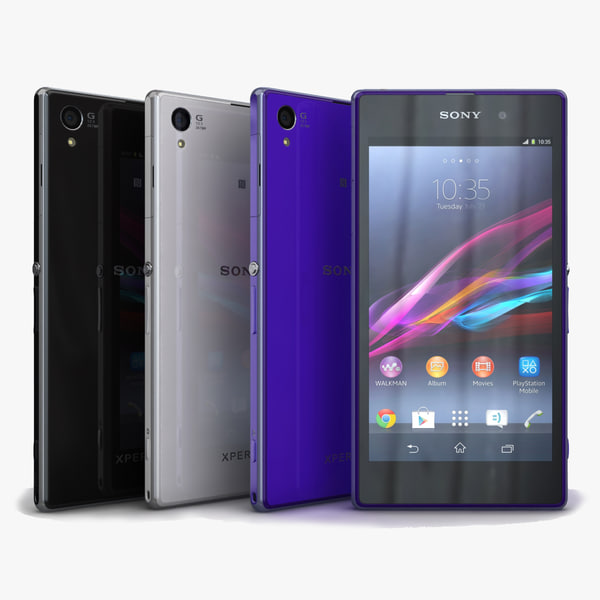 3d sony xperia z1 colors