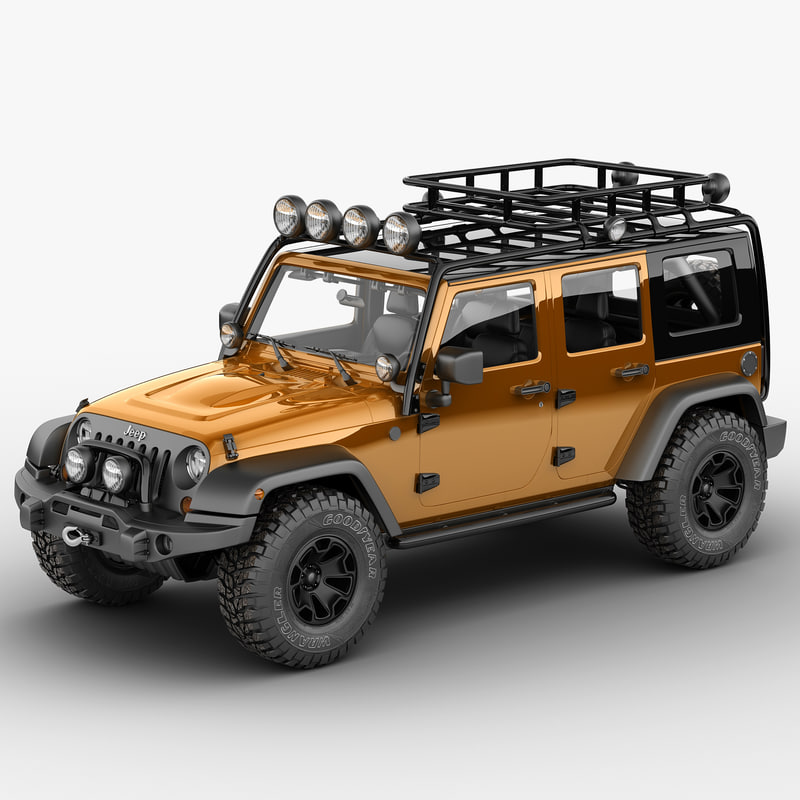 jeep wrangler moab expedition 3d max