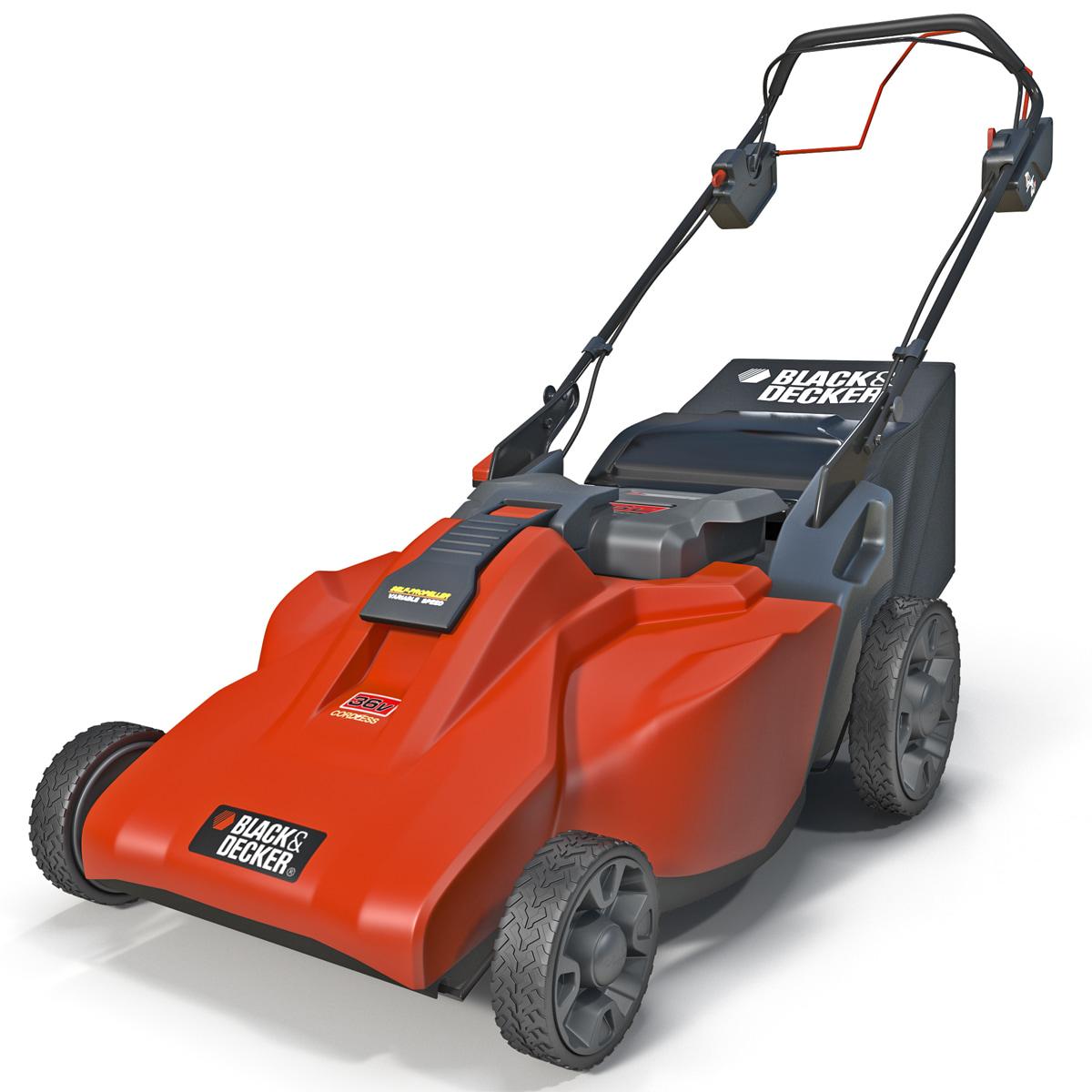 lawn mower black decker 3d 3ds