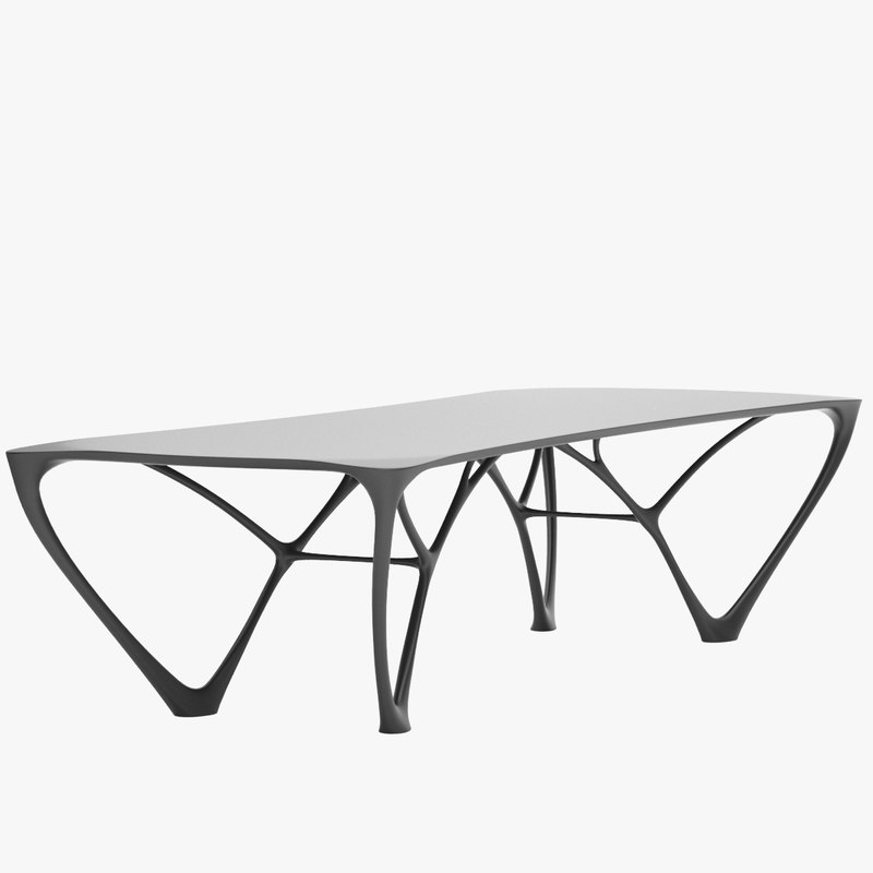 3ds joris laarman bridge table