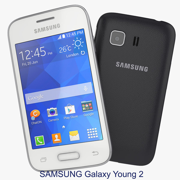 Samsung Galaxy Young 2 Black And White