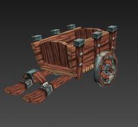 Low Poly Cart