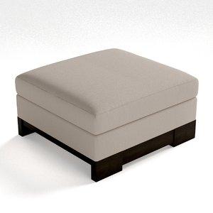 3d bolier - domicile seating model