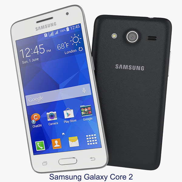 Samsung Galaxy Core 2 Black And White