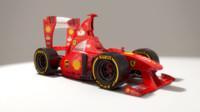 Cartoon Formula 1 - Ferrari
