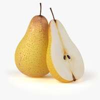 Realistic Pear Fruit