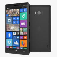 nokia lumia 930 smartphone 3d obj