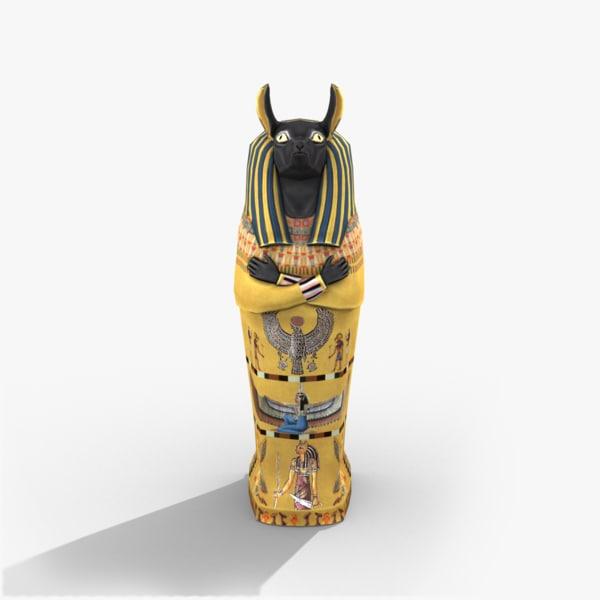 3d sarcophagus