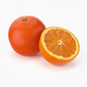 max realistic orange fruit real