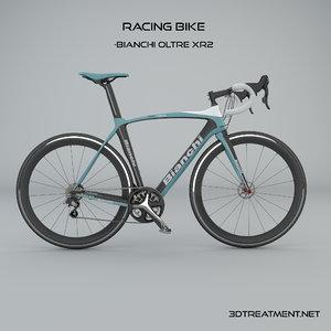 3d model racing bike