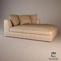 meridiani lewis small sofa 3d max