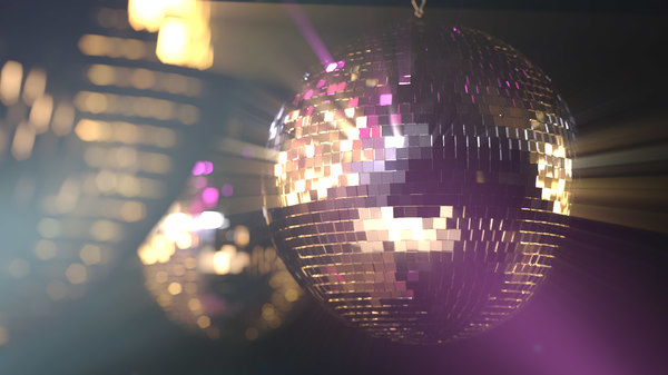 disco mirrorballs modeled fbx