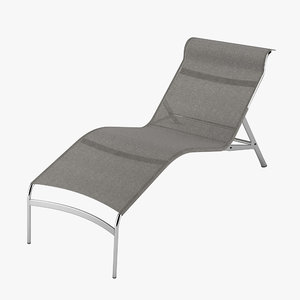 alias longframe chair 3d model