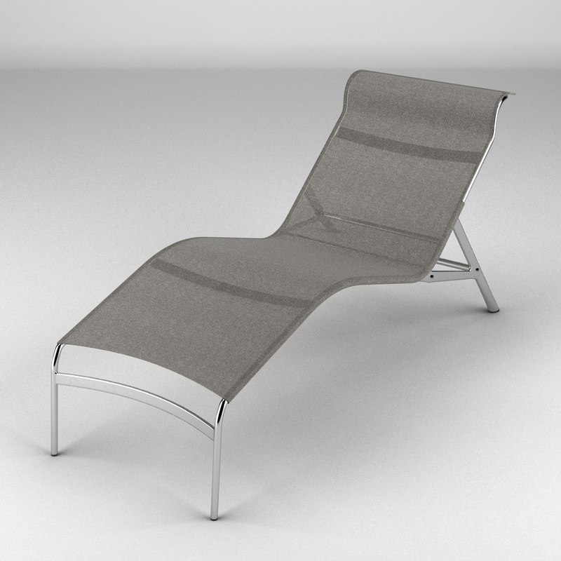 alias longframe chair 3d model