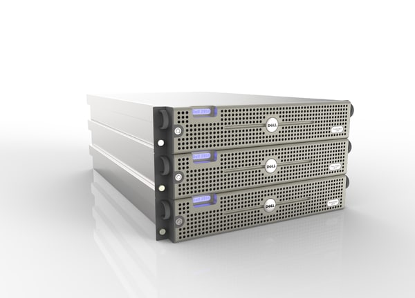3d dell poweredge 2950 server