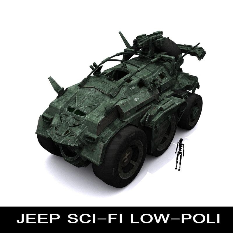 3ds max transport sci-fi