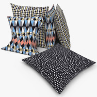max ikea pillows - svarttall