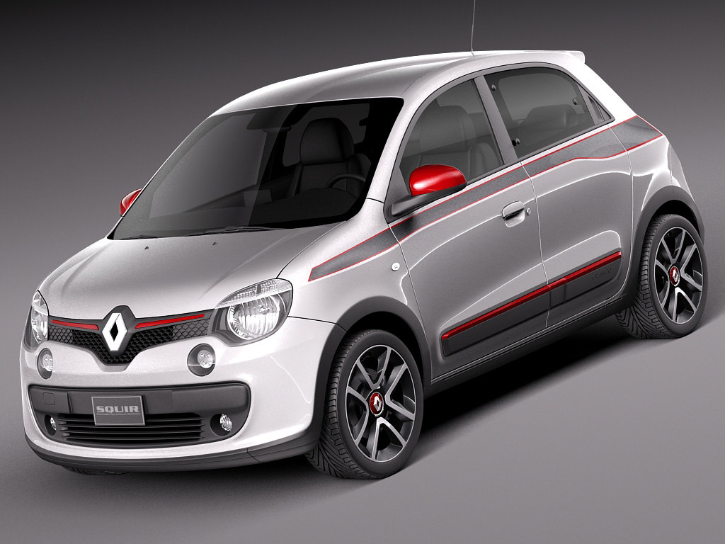 3d max 2015 renault twingo. Black Bedroom Furniture Sets. Home Design Ideas