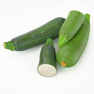 3d realistic squash real vegetables