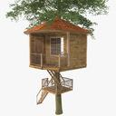 Tree House 3D models