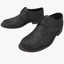 men's shoes 3D models