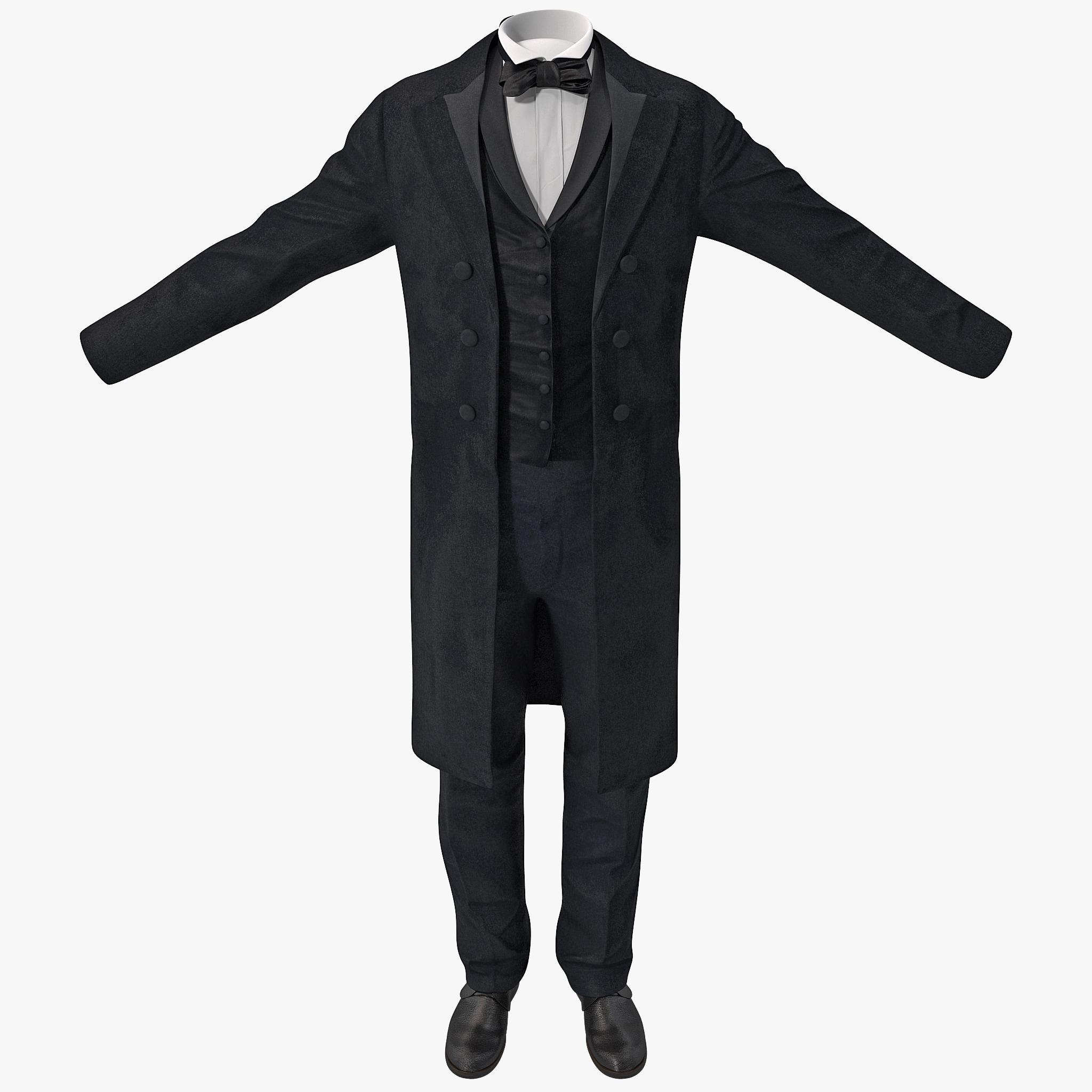 3ds max mens dinner suit