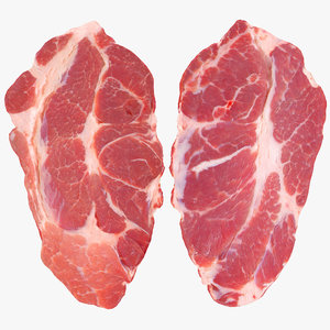 3d steak