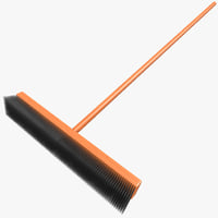 3d street broom model