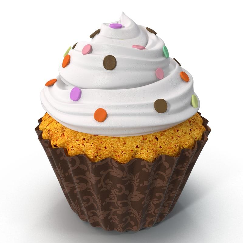 vanilla cupcake 3d 3ds