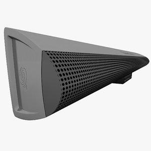 3d model surround speaker altec