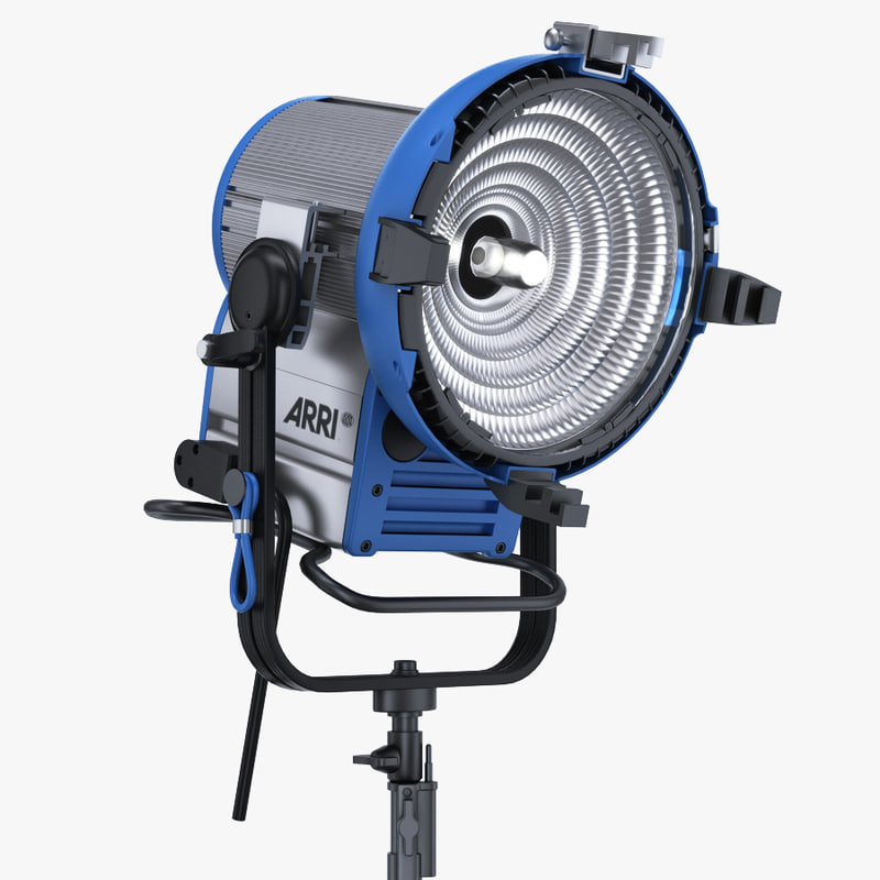 arri m18 daylight hmi 3d model