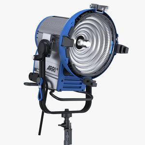 arri m18 daylight hmi 3d model