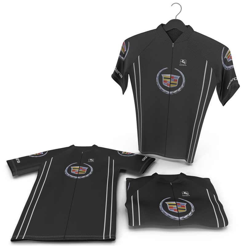 3ds cyclist t-shirts set