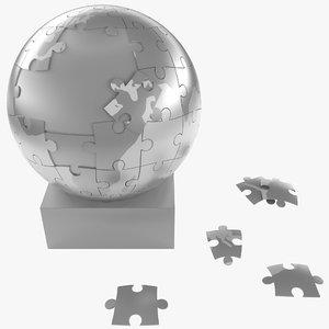 steel puzzle sphere max
