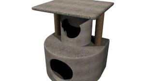 3d cat perch castle