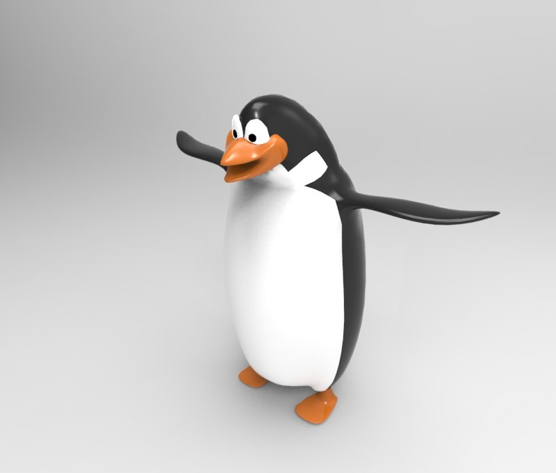 penguin cartoon max