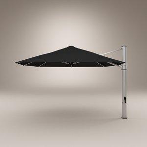 3d model frankford umbrella